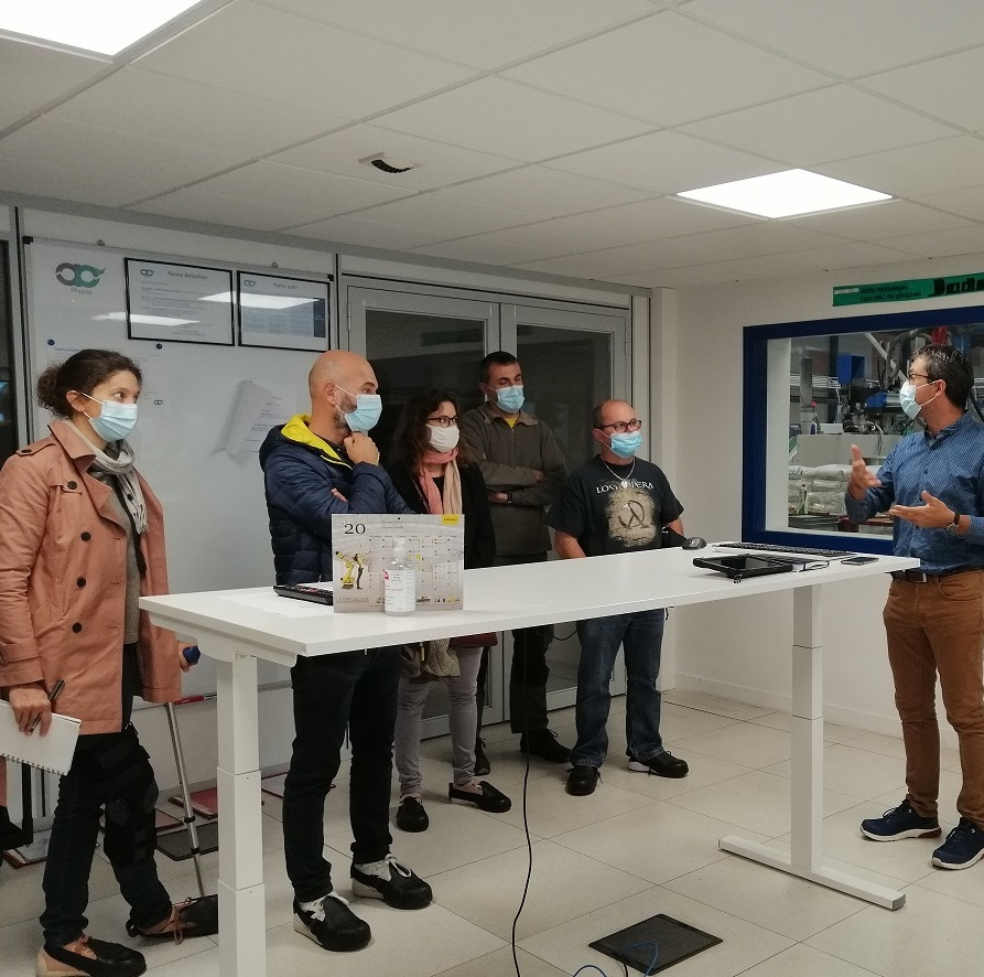 TIWAL visits the company Auray Plast, an enriching sharing of experiences!